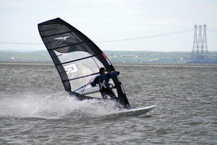 wiki windsurfing  freeride fin