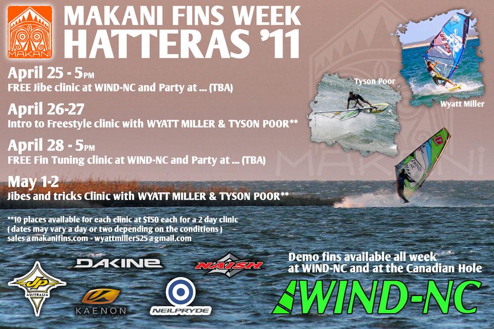 windsurfing hatteras