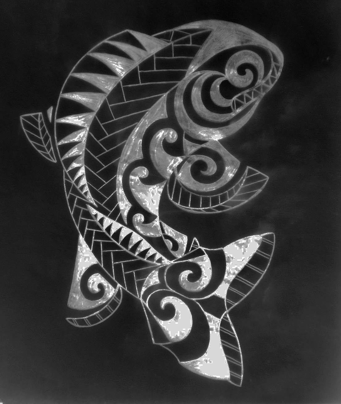 Walu fish fin
