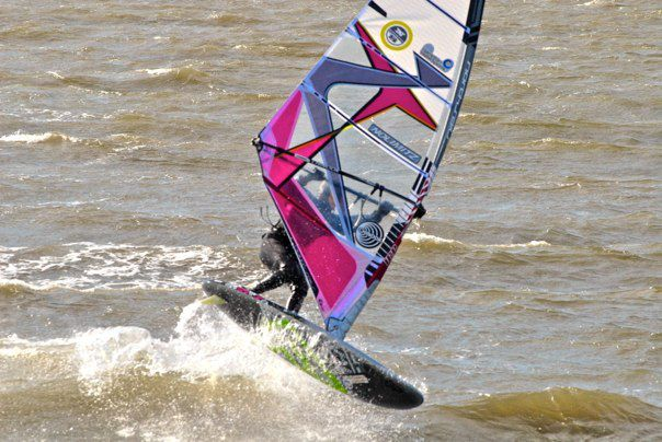 windsurfing weed fins